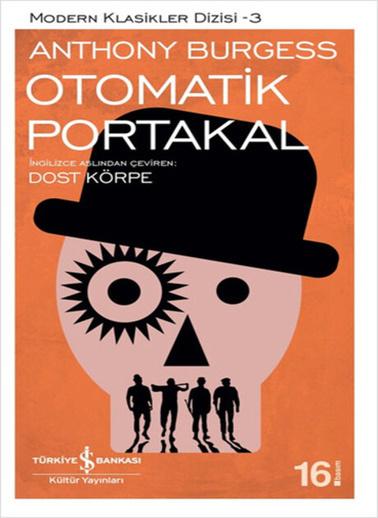 Morhipo kitap Otomatik Portakal Renkli